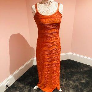 Newport News STRETCHY maxi dress